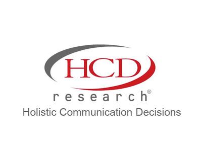 HCD Research Logo. (PRNewsFoto/HCD Research) (PRNewsFoto/)