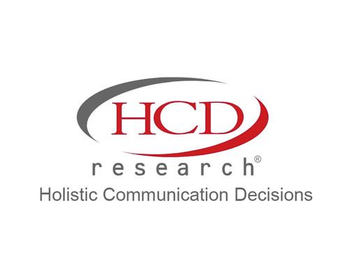HCD Research Logo. (PRNewsFoto/HCD Research)
