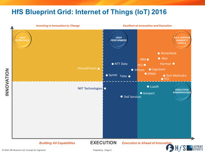 HfS Blueprint Grid: Internet of Things (IoT) 2016
