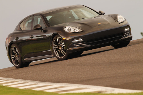 Only a year after its launch, Porsche's Panamera enjoys strong sales worldwide.  (PRNewsFoto/Porsche Cars North America, Inc.)