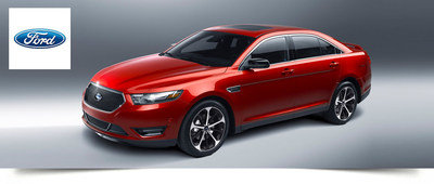The 2015 Ford Taurus delivers incredible power and innovative technology for one of the best full-size sedans available on the road in Davenport, Iowa. (PRNewsFoto/Dahl Ford)