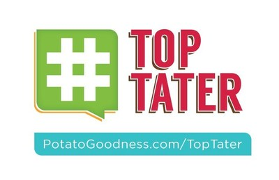 Snap a potato photo, tag it with #TopTater and you could win $100! (PRNewsFoto/United States Potato Board)