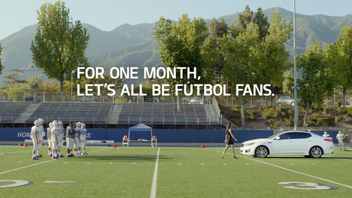"Supermodel Adriana Lima and Kia Motors America turn curious onlookers into ""Futbol"" fanatics in series ..."