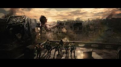 Attack on Titan Live Action Movie Still