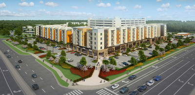 Winter Park Construction (WPC) is Building a $60 mil Off-Campus Student Housing Project near UCF.  (PRNewsFoto/Winter Park Construction)