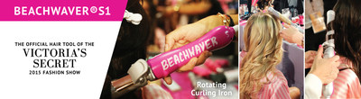 A revolution has taken place backstage with the reveal of the rotating curling iron that will change your life. Finally, a tool that will give us Victoria's Secret hair at home.