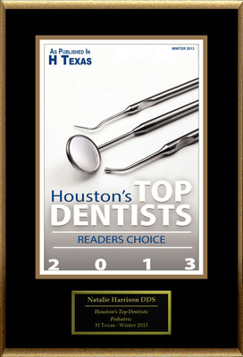 Natalie Harrison, DDS Selected For ''Houston's Top Dentists''