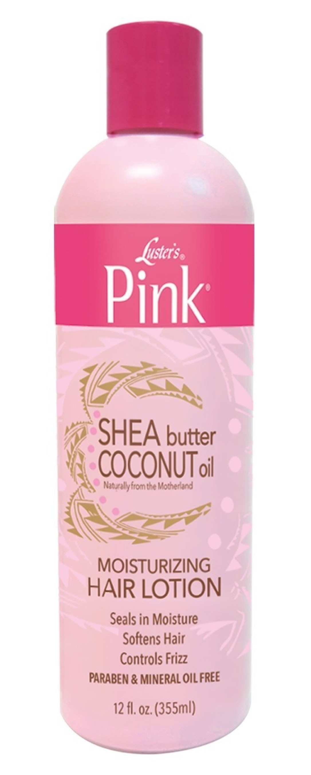 Luster's Pink(R) new paraben free products offer breath of fresh air for naturalistas!