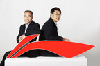 Mr. Li Ning and Mr. Zhang Zhiyong, CEO of Li Ning Company Limited.  (PRNewsFoto/Li Ning Company Limited)
