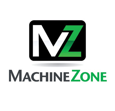 Machine Zone logo.  (PRNewsFoto/Machine Zone, Inc.)