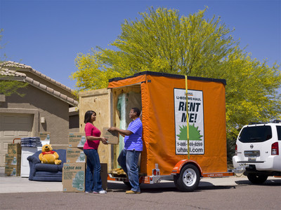 U-Box Portable Moving and Self-Storage Pods
