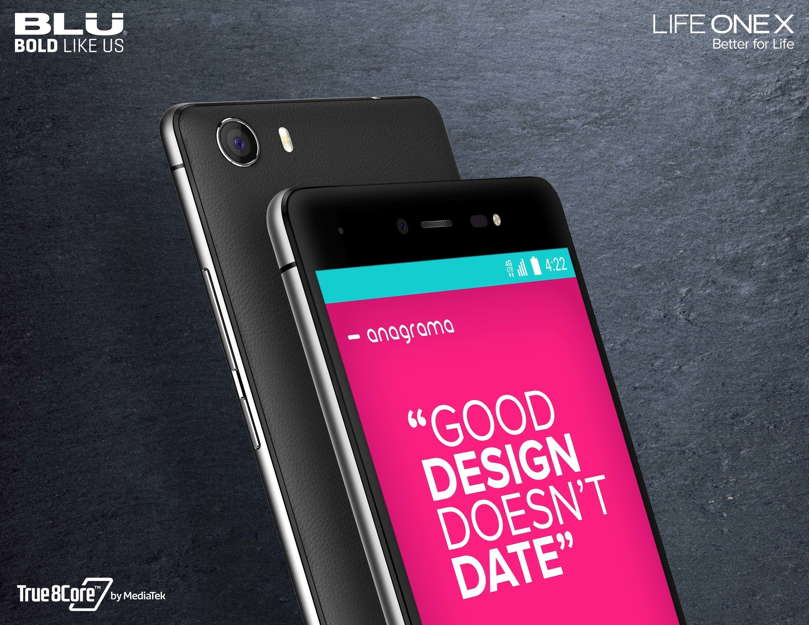 BLU Products Announces Life One X, Powered By Mediatek Octa-Core Chipset - The Best Affordable