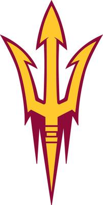 ASU logo.  (PRNewsFoto/Riddell)