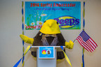 The votes are in! The PEEPS Chick celebrates its victory against the Groundhog as America's 2016 Spring Ambassador at Just Born Quality Confections headquarters on Wednesday, February 3, 2016 in Bethlehem, Pennsylvania. For more PEEPS news visit www.marshmallowpeeps.com. Jeff Fusco/AP Images for Just Born Quality Confections