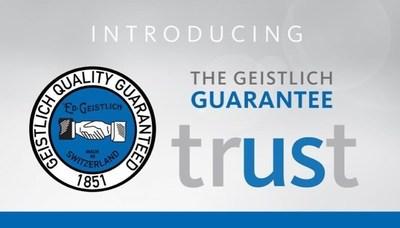 Introducing The Geistlich Guarantee