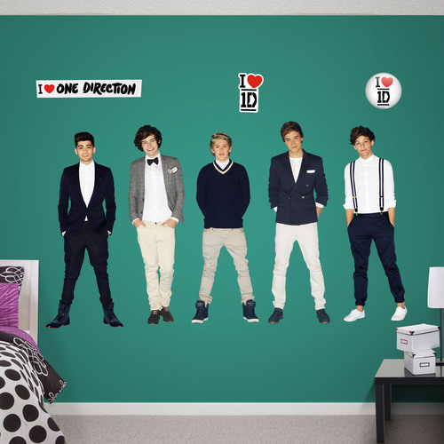 Mega-Selling Group One Direction Become Fathead Wall Graphics. (PRNewsFoto/Fathead) (PRNewsFoto/FATHEAD)