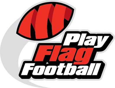 Play Flag Football Logo.  (PRNewsFoto/Play Flag Football)