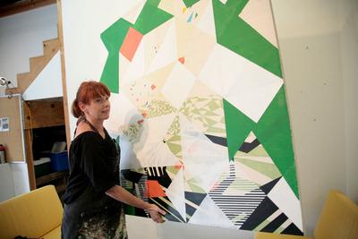 Los Angeles-based artist Tanja Rector.  (PRNewsFoto/Wondereur)