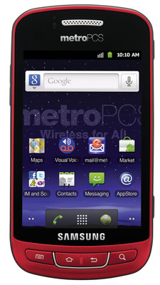Introducing the Samsung Admire from MetroPCS.  (PRNewsFoto/MetroPCS)
