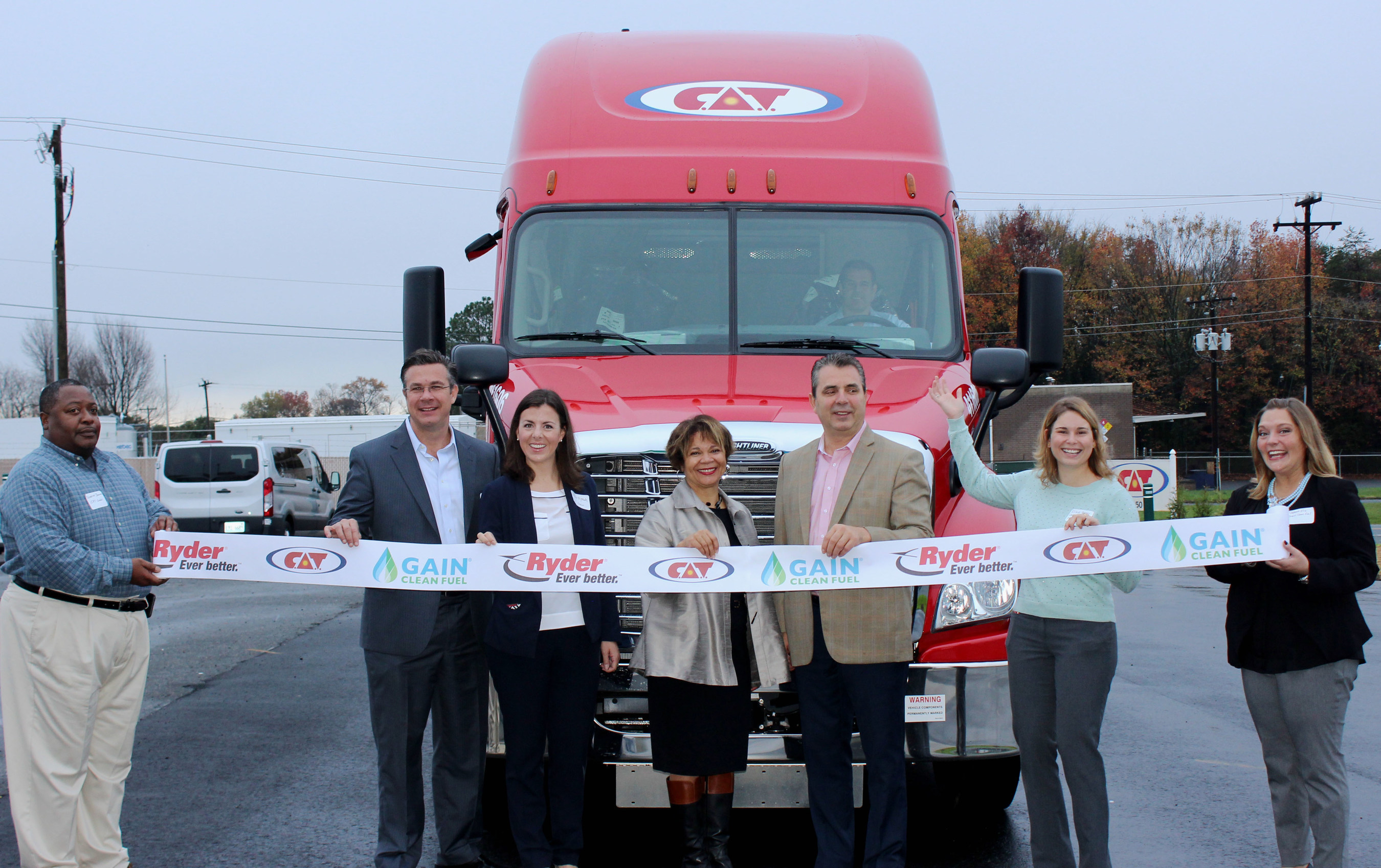 U.S. Gain Partners With C.A.T. to Bring New GAIN Clean Fuel CNG Station to North Carolina