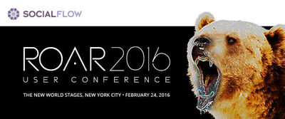 ROAR - The SocialFlow User Conference - Feb 24th NYC