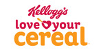 Love our Cereal logo. (PRNewsFoto/Kellogg Company)