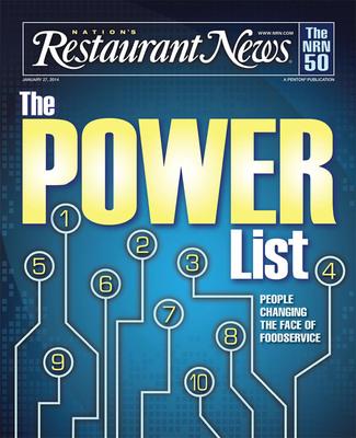 Nation's Restaurant News Debuts Restaurant Industry Power List.  (PRNewsFoto/Penton)