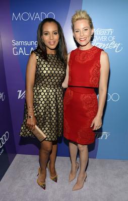 Kerry Washington and Elizabeth Banks.  (PRNewsFoto/Movado Group, Inc.)