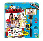 Canal Toys' soon-to-be released Selfie Photo Fun kit features a selfie stick, 20 props and a wireless shutter to create memorable and fun photos to share with friends and family.