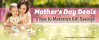 5 Smart Ways to Save on What Moms Want Most (PRNewsFoto/FatWallet.com)