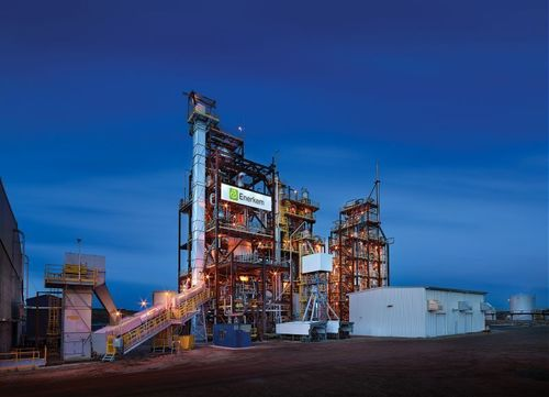 Enerkem is the first company in the world to have successfully produced biomethanol from municipal solid waste at the commercial scale. (photo: Merle Prosofsky) (PRNewsFoto/Enerkem Inc.)