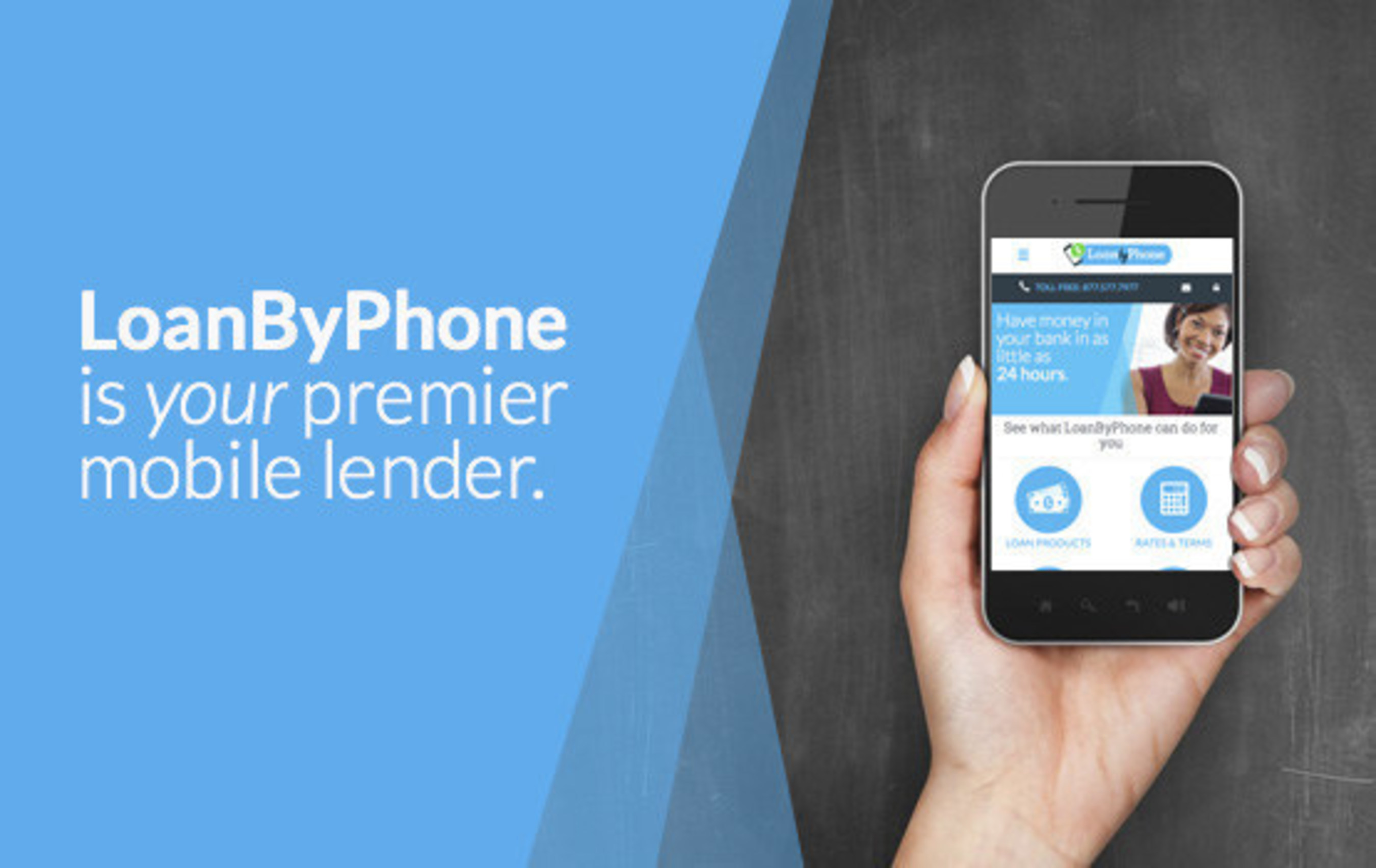 New design makes LoanByPhone.com your premier mobile lender