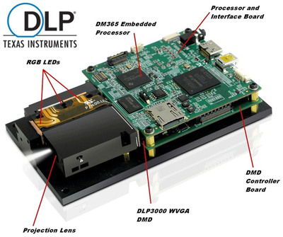 DLP(R) LightCrafter(TM) from Texas Instruments: Enabling big innovations in light steering from a compact, ready-to-use module. This new DLP-powered offering arms developers with a comprehensive assortment of features and capabilities to integrate light into current and future industrial applications.
