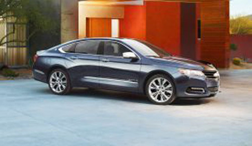 Chevy's flagship sedan is back and better than ever before. The 2014 Chevy Impala in Plainfield, IL will arrive at Bill Jacobs Plainfield soon and has been completely redesigned.  (PRNewsFoto/Bill Jacobs Plainfield)