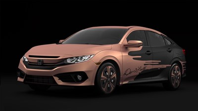 Honda presents the Civic Hatchback prototype in NY as well