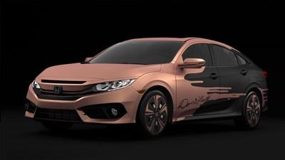 2016 Honda Civic Tour Sedan designed by Demi Lovato
