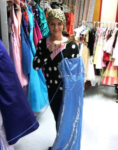 St. Joseph's Children's Hospital hosts a special dress shop to help patients prepare for a ...