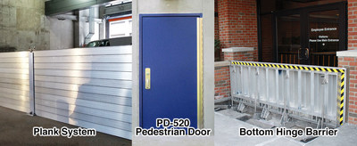 PS DOORS' Spill Containment Barriers keep workers, facilities and the environment safe from industrial spills.