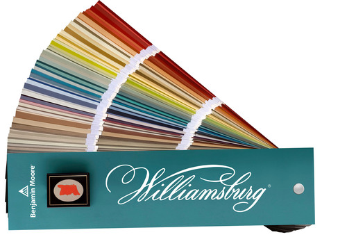 Benjamin Moore Collaborates With The Colonial Williamsburg Foundation On The Launch Of The