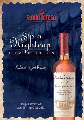 "Santa Teresa's First-Ever ""Sip a Nightcap"" Cocktail Competition.  (PRNewsFoto/Hanna Lee Communications, Inc.)"