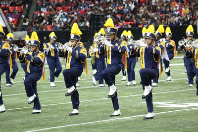 Marching band fans at the 2014 Honda Battle of the Bands voted North Carolina A&T University the fan favorite.  (PRNewsFoto/American Honda Motor Co., Inc.)