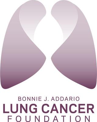 Bonnie J. Addario Lung Cancer Foundation logo. (PRNewsFoto/Addario Lung Cancer Foundation) (PRNewsFoto/Addario Lung Cancer Foundation)