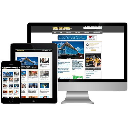 Club Industry Moves Exclusively Online in 2014. (PRNewsFoto/Penton) (PRNewsFoto/PENTON)