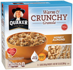 Taste the Crunchy Side of Oatmeal this Summer with Quaker Warm & Crunchy Granola (PRNewsFoto/The Quaker Oats Company)