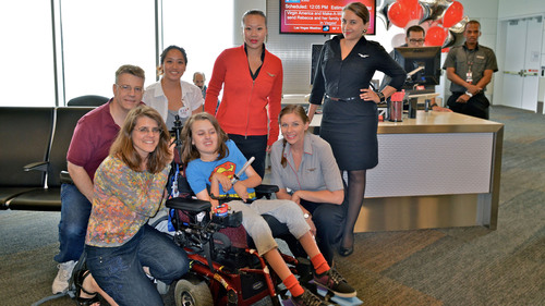 Make-A-Wish® Greater Bay Area Partners With Virgin America To Help Children Make Their Wishes Come