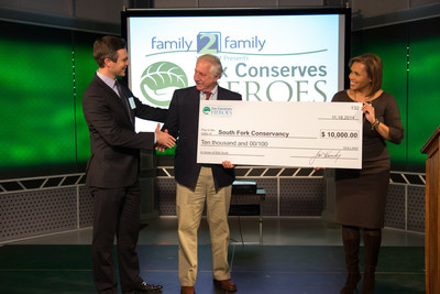 Ch. 2 WSB-TV's Craig Lucie and Jovita Moore announced Bob Scott as Atlanta's 2014 Cox Conserves Hero. He received $10,000 for his nonprofit of choice, the South Fork Conservancy.