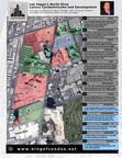 Las Vegas's North Strip Luxury Condominium and Development map. Authored by Jason Trindade with King of Condos. (PRNewsFoto/King of Condos Inc.)