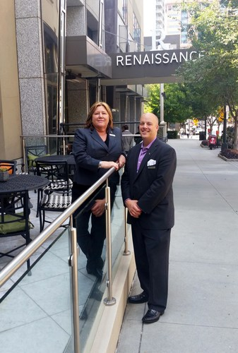 Debra Desaulniers (left) and Robert Mitchell (right) (PRNewsFoto/Renaissance Atlanta Midtown ...)