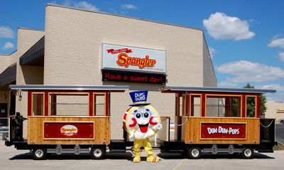 Take a Dum Dum Trolley Tour and visit the Spangler Candy Store & Museum. Summer hours begin June 1st. Monday thru Friday.  (PRNewsFoto/Spangler Candy Company)