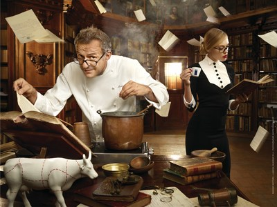 LAVAZZA's Longtime Culinary Partner, Massimo Bottura, Featured in the Brands 2014 Calendar
